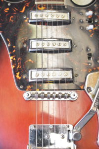 Prestige 1960's three-pickup guitar