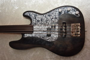 Fretless Precision Special Partscaster
